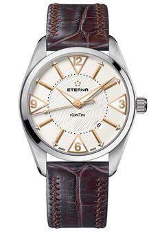 a85654489e4 Eterna Men s 1220.41.67.1183 Automatic Kontiki Date Watch