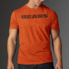 NFL Chicago Bears Mens Scrum Basic Tee Small Carrot >>> Click image to review more details.