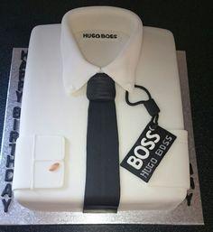 Hugo Boss Shirt Cake on Cake Central
