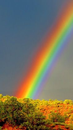 Lovely Rainbow that  God, Lord Heavenly Father  Created for us all. Amen! † ❤