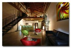 Lacy Studio lofts in the heart of Los Angeles!!  This is where Steve and I want to move!!!