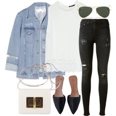 Untitled #2964 by bubbles-wardrobe on Polyvore featuring Zara, Acne Studios, rag & bone, Tom Ford, Lipsy and Ray-Ban