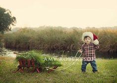Christmas photo .