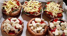 Greek Recipes, Finger Foods, Baked Potato, Stuffed Mushrooms, Food And Drink, Vegan, Diy Art, Ethnic Recipes, Basel