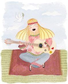 Hippie Music #ellensurrey