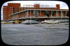The Fountainbleau Hotel in New Orleans, Louisiana - 1960 by vieilles_annonces, via Flickr and it's where the Beatles stayed while on tour here.