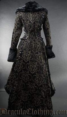 Black Evil Queen Coat - I WANT