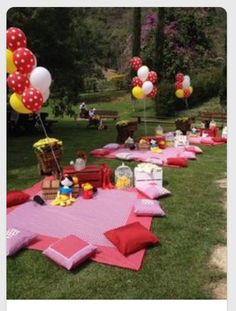 Outside Birthday Party - Picnic!!