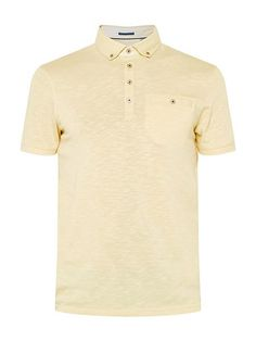 Treekal Linen Collar Polo Shirt