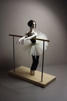 "BJD doll ballerina full set - ""At the ballet class"" art doll Ballet Barre, Ballet Class, Ballet Dancers, Leg Warmers Outfit, Dancing Dolls, Ballerina Doll, Doll Stands, Bjd Dolls, Ball Jointed Dolls"