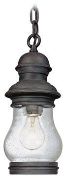 "Country - Cottage Hyannis Port Collection 12 1/2"" High Outdoor Hanging Light - farmhouse - Outdoor Lighting - Lamps Plus"