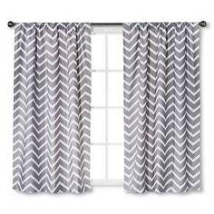 Circo™ Curtain Panel Chevron Print