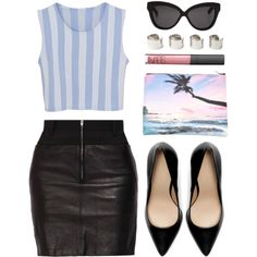 #stripes #leather