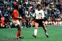 West Germany vs. Holland at WM 1974 #worldcup #germany #netherlands