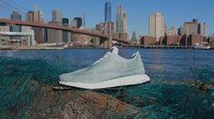 Reti da pesca illegali per le sneakers che vogliono bene agli oceani