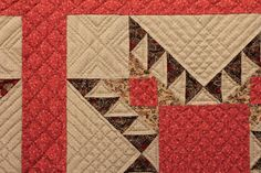 Quilts In The Barn: Close ups of fabric and quilting at Brouage.