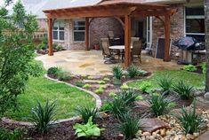 Backyard Shade Structure  Pergola and Patio Cover  Classic Scapes  Dallas, TX