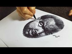 A ballpoint pen drawing - you know who - YouTube