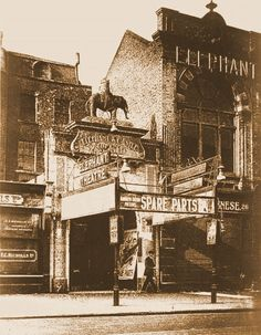 Elephant & Castle Theatre, New Kent Road, c1879.
