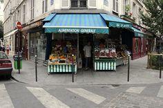 Paris 4e - Alimentation générale, rue Pavée - rue des Rosiers, Paris 2008.