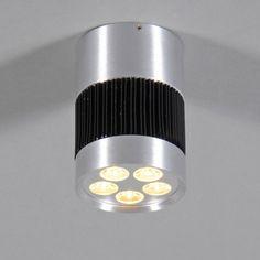 Deckenleuchte Shot I LED Aluminium #Deckenlampe #Lampe #Innenbeleuchtung