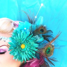 Elaborate head pieces