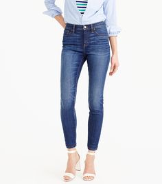 How Lauren Conrad Pairs Jeans With Ankle Boots via @WhoWhatWear