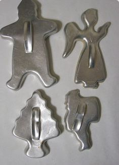 My mom had these cookie cutters.