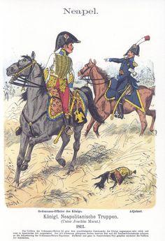 Band V #47.- Neapel. Königlich Neapolitanische Truppen. Ordonnanz-Offizier des Königs. Adjutant. 1812.