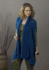 Ravelry: Sherbrook Elongated Summer Jacket pattern by Tammy Hildebrand