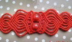 forget-me-knot Macrame Jewelry, Macrame Bracelets, Knots, Crochet Necklace, Forget, Ideas, Crochet Collar, Knot, Loom Bracelets