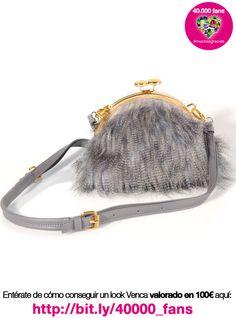 Bolso de fiesta pelo sintético #venca ¡Haznos repin y consigue un tu look ideal por 100 €! :)