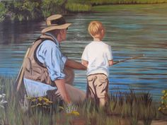 vintage fly fishing art