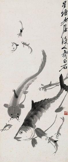 齐白石 九如图 by China Online Museum - Chinese Art Galleries, via Flickr