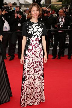 Sofia Coppola in Marc Jacobs SS14 at Cannes.
