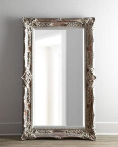 """Antique French"" Floor Mirror"