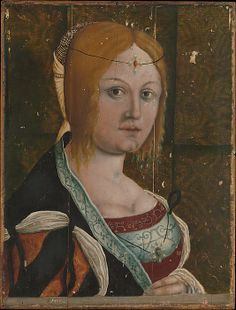 Portrait of an Italian Woman - Style of Albrecht Dürer             (Italian, probably 16th century)