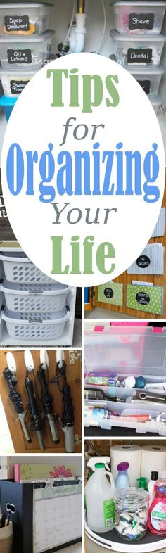 13 Tips for Organizing Your Life and Home