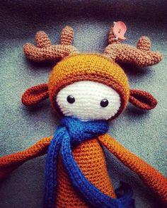 Лося Lalylala #амигуруми #игрушкиручнойработы #вязаныеигрушки #вязание #вязаныеизделия #handmade