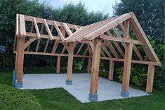 Backyard Pavilion, Small Backyard Patio, Backyard Sheds, Backyard Patio Designs, Pool House Shed, Pool Houses, Diy Gazebo, Pergola Patio, Outdoor Rooms