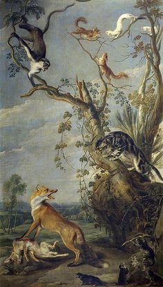 Fox And Cat Frans Snyders