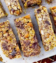 Healthy Bars, Healthy Sweets, Fodmap, Sweet Recipes, Whole Food Recipes, Low Carb Recipes, Food Inspiration, Food To Make, Good Food