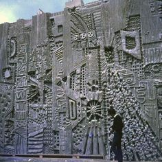 William Mitchell - Architectural Sculptor of the 60s & 70s