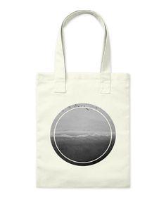 Monochromatic Sea Natural Tote Bag Front