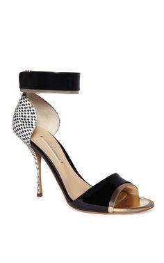 Nicholas Kirkwood Elaphe Peep Toe Sandal