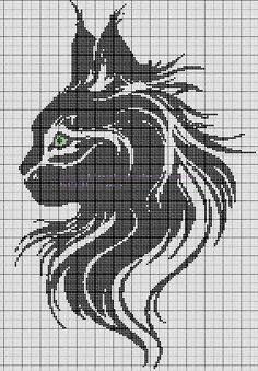 Cross stitch patterns- cat                                                                                                                                                                                 Mehr