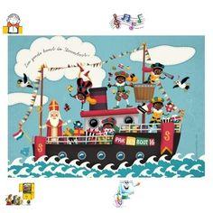 TOUCH this image: interactieve praatplaat : thema Sinterklaas. by Nancy Derks-Kooistra