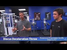 (6 of 6) Discus Deceleration Throw - Rotational Progression Series by IMG Academy