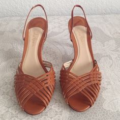 "Cole Haan heels Cole Haan collection. Leather. Made in Italy. 3"" heel. Great condition Cole Haan Shoes Heels"