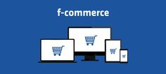 F-commerce happens inside Facebook, referring specifically to the purchase of real goods and real services inside Facebook with a credit card or other valid monetary system.